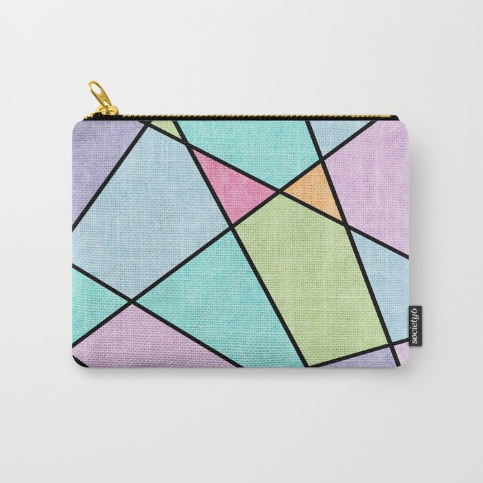 Frosted pastel Carry-All Pouch