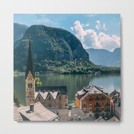 Hallstatt Part 1 Metal Print