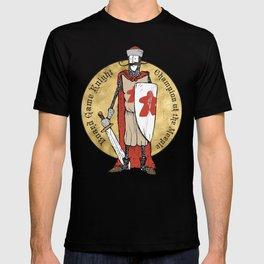 Board Game Knight - Medallion T-shirt