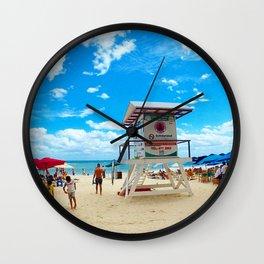 Playa Del Carmen, Mexico. Wall Clock