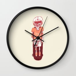 It's All Going Downhill From Here Wall Clock