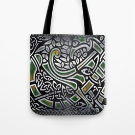Celtic Birds Knot Work 3D Tote Bag