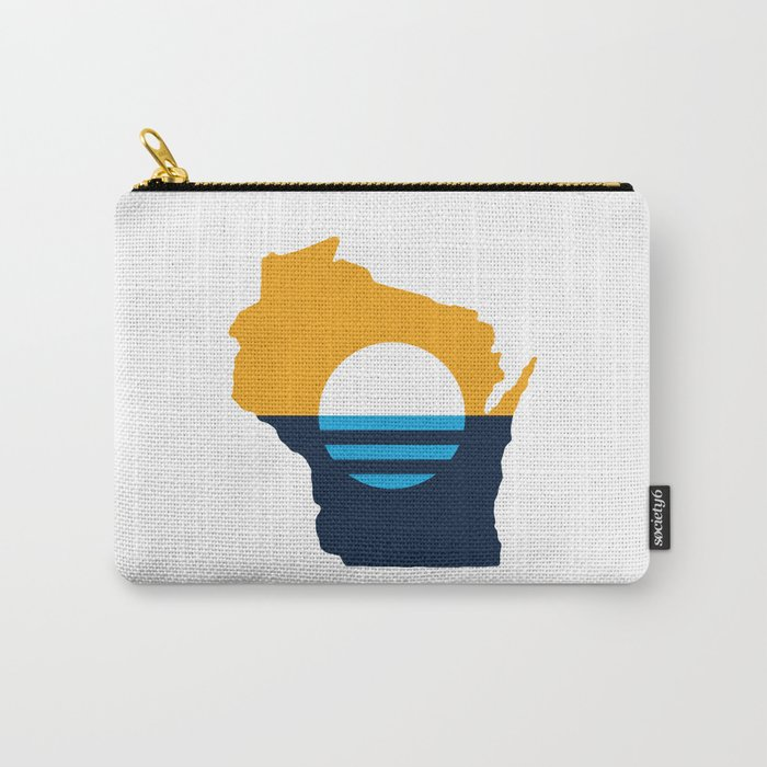 Wisconsin - People's Flag of Milwaukee Carry-All Pouch