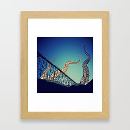 Dawn of the Tentacle Framed Art Print