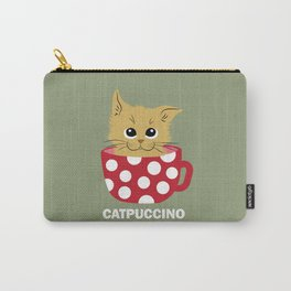 Catpuccino Carry-All Pouch