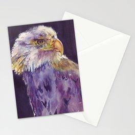Bald eagle - the surveyor Stationery Cards