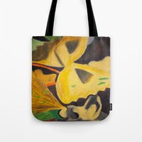 pasta Tote Bags featuring Pasta by Stefanie Sharp
