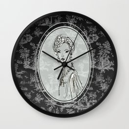 Belle de Jouy 2 Wall Clock