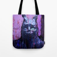 donnie darko Tote Bags featuring Donnie Darko by brett66