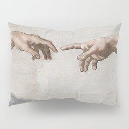 THE CREATION OF ADAM - MICHELANGELO Pillow Sham