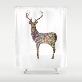 deer color Shower Curtain