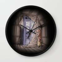 narnia Wall Clocks featuring Bigger on the Inside! by Billy Allison