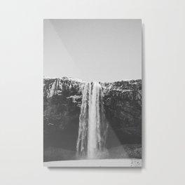 WATERFALL II / Seljalandsfoss, Iceland Metal Print
