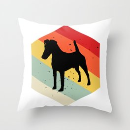 Smooth Fox Terrier product For Dog Lovers Cute Dog Throw Pillow