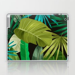 Tropical Leaf Pattern Laptop & iPad Skin