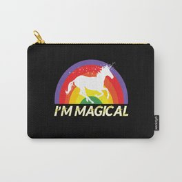 Unicorn Unicorn Rainbow Unicorns Carry-All Pouch