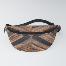 Urban Tribal Pattern No.3 - Wood Fanny Pack
