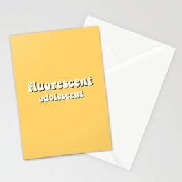 fluorescent adolescent Stationery Cards