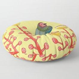 le petit matin Floor Pillow