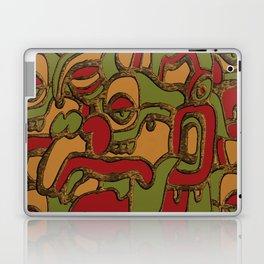 Modern Take on Maya Hieroglyphics Laptop & iPad Skin