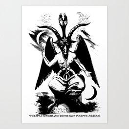 Der Baphomet Art Print
