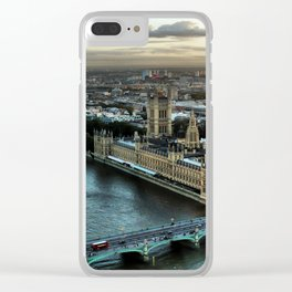 London - Palace Of Westminster Clear iPhone Case