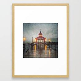 Evening Fog Framed Art Print