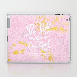 Be Still - w/ abstract pattern Laptop & iPad Skin