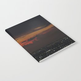 A Sky On Fire Notebook