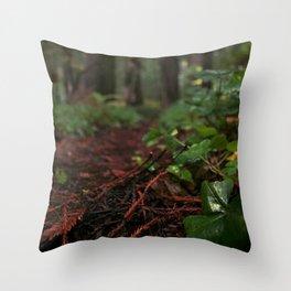 Redwood Livin' Throw Pillow
