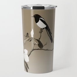 Magpie and Magnolia Travel Mug