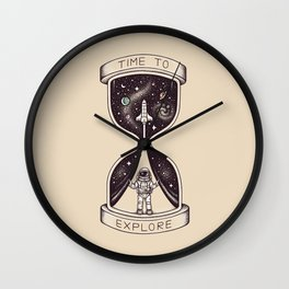 Time to Explore Wall Clock