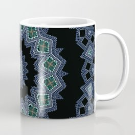 Embroidered beads pattern 2 Coffee Mug