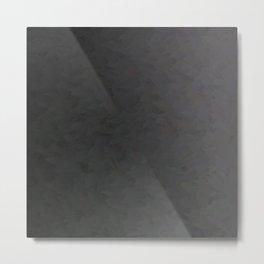 Black to gray underground urban camouflage Metal Print