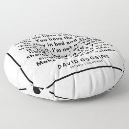 39  David Goggins Quotes   190901 Floor Pillow