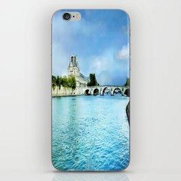 Seine River - Paris France iPhone Skin