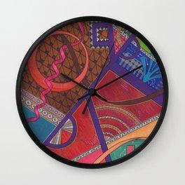 Abstraction Wall Clock