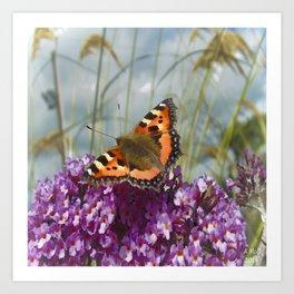 Butterfly Days Art Print
