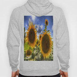 Sunflowers Of Summer Hoody