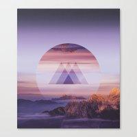 spires Canvas Prints featuring Tri-Spires by Adam Egginton