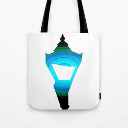Concentric Lamppost  Tote Bag