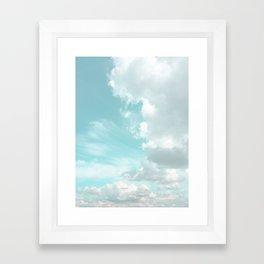 Head in the clouds #buyart #decor #freshair Framed Art Print