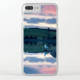 Perched on Strangford Lough Clear iPhone Case