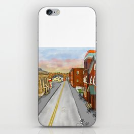 Mainstreet Brunswick, MD iPhone Skin
