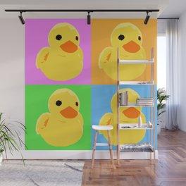 Fuzzy Duck Quad Wall Mural