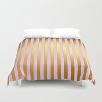 striped Duvet Covers featuring Striped by Better HOME