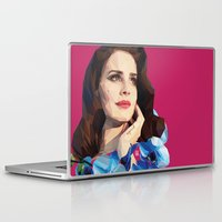 ultraviolence Laptop & iPad Skins featuring Del rey by Jesus Servin