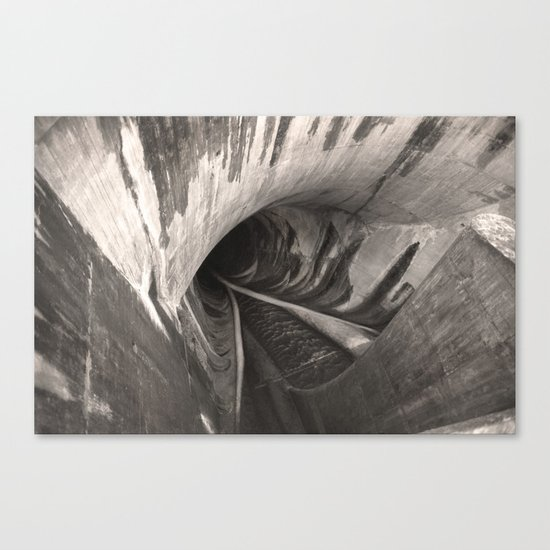 Dam Reticulation - the Void Canvas Print