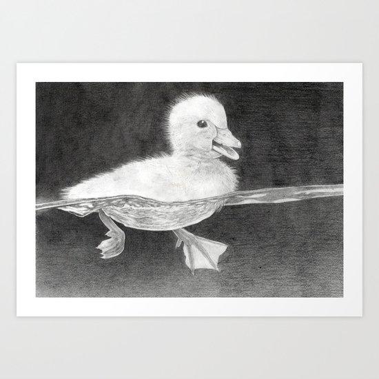 """""""Ducky"""" Art Print"""