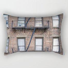 New York Fire Escape Rectangular Pillow